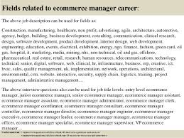Ecommerce Job Descriptions Top 10 Ecommerce Manager Interview Questions And Answers