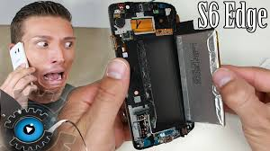 Samsung Galaxy S6 Edge Batterie Wechseln