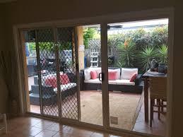 aluminium sliding door with security screen building materials gumtree australia brisbane south west darra 1189016267