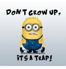 Image result for don't grow up it's a trap