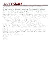 Hospitality Cover Letter Example Sample Cover Letter For Hospitality