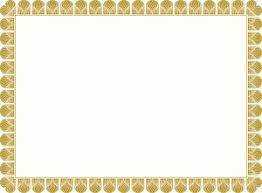 diploma border template gold design certificate template border