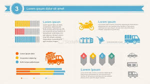 chain charts transport logistics and supply chain data charts templates slidemodel