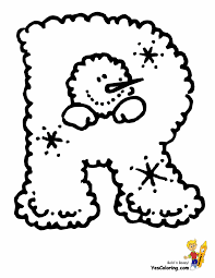 Toddler Alphabet Coloring Pages With Childrens Colouring Sheets