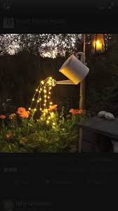 decorative solar lighting. Decorative Solar Lights Awesome Watering Can \u0026quot;pouring Lights\u0026quot; Lighting E