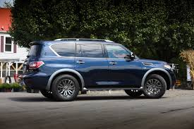 2018 nissan armada platinum reserve. brilliant platinum the titan titan xd and frontier midnight editions will all throw a  selection of nissanu0027s individuallyoffered features at the suvs though pricing is  throughout 2018 nissan armada platinum reserve d