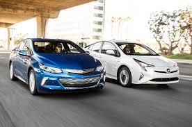2016 Chevrolet Volt vs. 2016 Toyota Prius Comparison