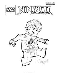 Some of these lego ninjago coloring printables show all the characters in one page but most of them only show one character individually. Lloyd Lego Ninjago Coloring Page Super Fun Coloring
