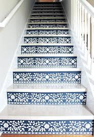 painted basement stairs. Modren Painted Best Paint For Stairs How To Stencil Your Staircase Basement  Or Stain On Painted