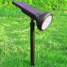 Powerful Solar Landscape Lights Lawn Lamp Light 7 Led Spotlight Waterproof Outdoor Safe