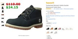 Timberland Women S Shoes Size Chart Timberland Womens Nellie Double Wp Ankle Boot Navy A