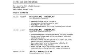 Resume Wonderful Resume Maker Program Resume Format That You Can