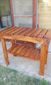 Kitchen Island Or Table Pallet Kitchen Island Or End Table