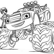 Free Printable Blaze Coloring Pages At Getdrawingscom Free For