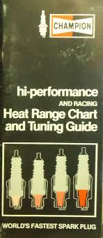 Details About Vintage Champion Hi Performance Racing Heat