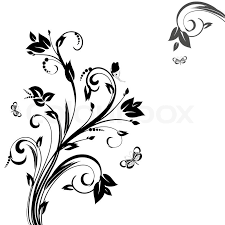 Floral Pattern Best Abstract Floral Pattern Stock Vector Colourbox