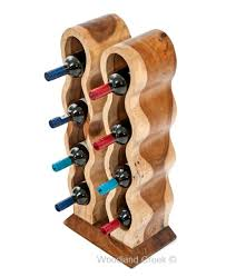 standing wine rack. Solid Hardwood Wine Rack Standing K