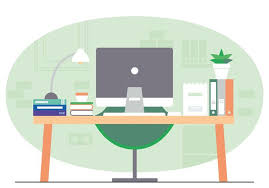 office room pictures. Vector Office Room Illustration Pictures