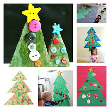 20 Easy Christmas Crafts For Toddlers  Totschooling  Toddler Christmas Arts And Crafts For Preschoolers