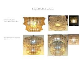 capiz shell pendant hexagon and mushroom lamp licious home improvement 36 shade light uk drum chandelier