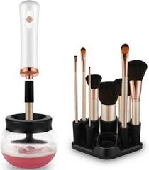 hitatech electric makeup brush cleaner dryer set make up brushes washing tool makeup brushes cleaner dry in seconds protect bristle