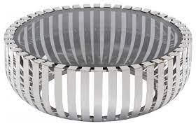 modrest cage modern stainless steel