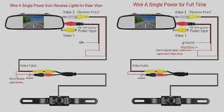 new wire diagram for reverse camera pyle plcm7500 wiring youtube cctv camera wiring diagram trend wire diagram for reverse camera amazon com leekooluu rear view and mirror monitor