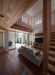 Wooden Ceilings wooden nuances defining the m4 house in nagasaki japan freshome 8078 by guidejewelry.us