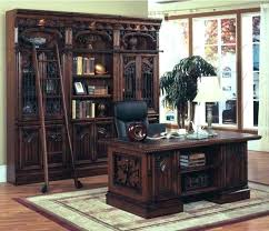 rustic spanish style furniture. Beautiful Spanish Style Furniture Wonderful Library Wall Bookcase With Desk In Rustic