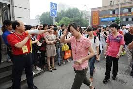 Burden of China's College Entrance Test Sets Off Wide Debate - The ...