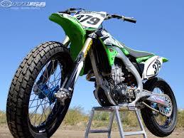 2011 kx450f project flat track bike photos motorcycle usa