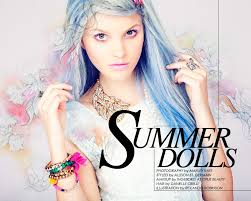 summer dolls how to embrace this season s technicolor hair trend