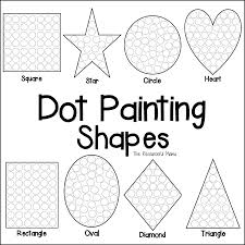 It develops fine motor skills, thinking, and fantasy. Mouse Paint Language Arts Worksheets Free Printable Math Art Dot Painting Coloring Pages Analysis 8th Grade Grammar For Middle School Pdf Oguchionyewu