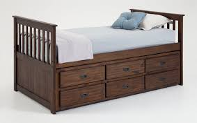 twin captains bed with drawers. Exellent Bed Chadwick Twin Captain Bed With Trundle Inside Captains Drawers T