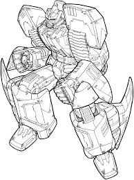 Small Picture Transformers Printable Coloring Pages Free Printable