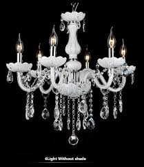 new modern white crystal chandeliers for livingroom bedroom indoor lamp k9 crystal res de teto ceiling chandelier