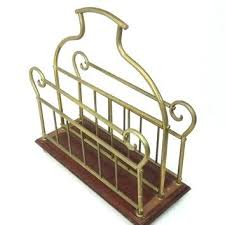 vintage wood magazine rack and brass zine antique wooden end table with side vintage wooden magazine rack n89 vintage