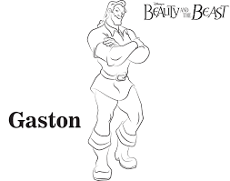 Small Picture Gaston Coloring Pages Coloring Coloring Pages