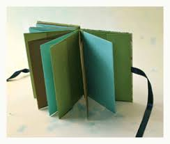 how to bind a book with an accordion spine