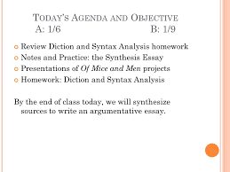 today s agenda and objective a b ppt  today s agenda and objective a 1 6 b 1 9