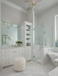white bathroom cabinets gray walls. white and gray master bathroom features walls painted soft, creamy lined with vanity cabinets r