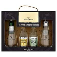 fever tree ultimate gin and tonic tasting experience with 2 gles gift set amazon co uk beer wine spirits