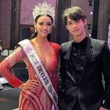 Amanda Obdam and Thai superstar Bright - Pageanthology 101
