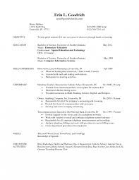High School Physics Teacher Resume Sample Education Template