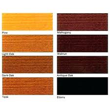 Mahogany Stain Color Chart Arborcoat Stain Colours Lovemia Co