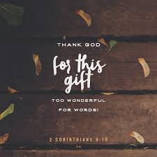 verse of the day 2 corinthians 9 15