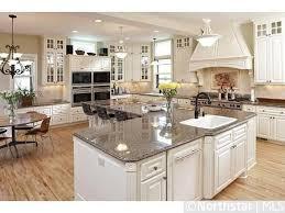 l shaped kitchen island