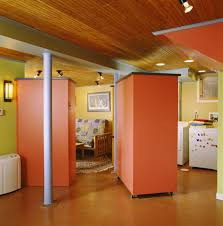 concrete basement floor ideas. Basement Flooring Ideas: Concrete Floor Ideas