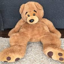 $30 Huge oversized jumbo 5 foot teddy bear 🐻 stuffed animal Best Oversized Jumbo Foot Teddy Bear Stuffed Animal for