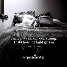 Cohen Crack Light Leonard Cohen Crack Light In 3w1q Simple Reminders At